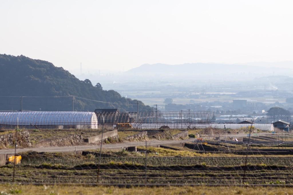 丹原町田滝地区から撮影