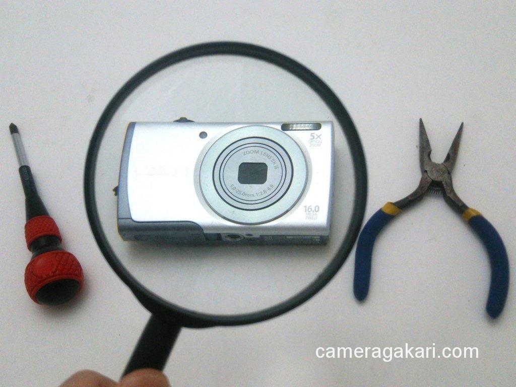 カメラのメンテナンス
