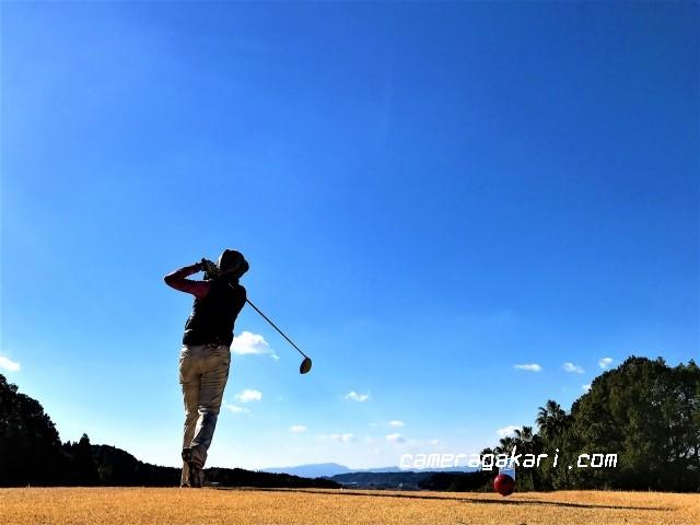趣味のゴルフ