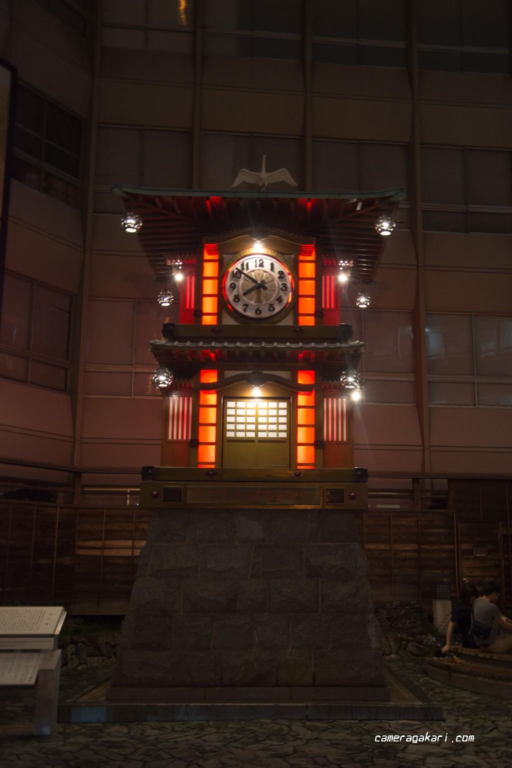 道後温泉の時計台