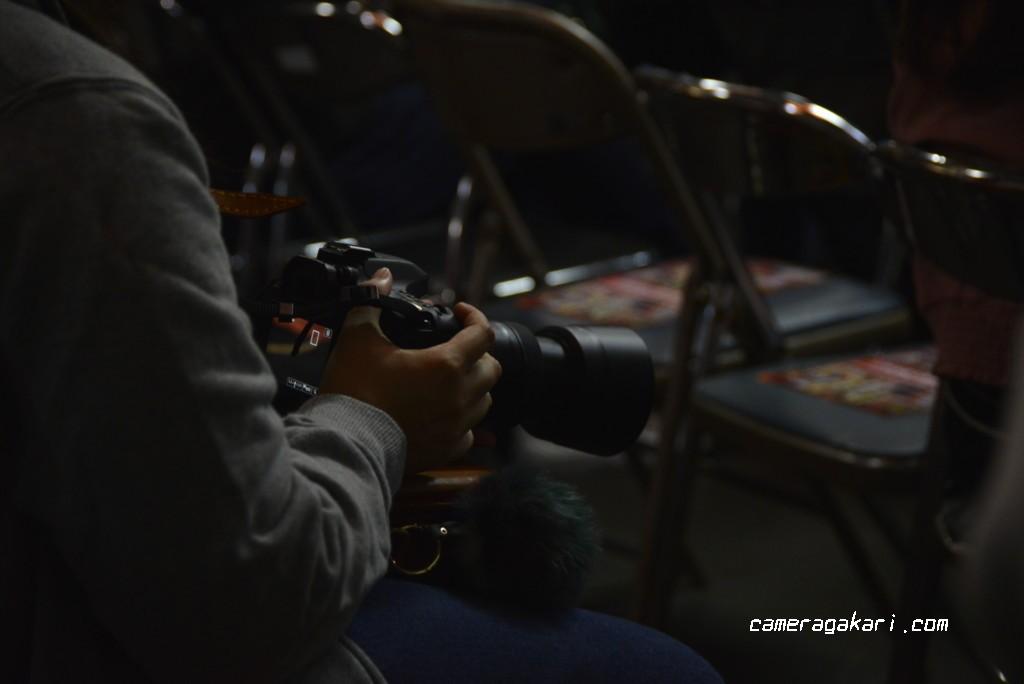 プロレス写真撮影