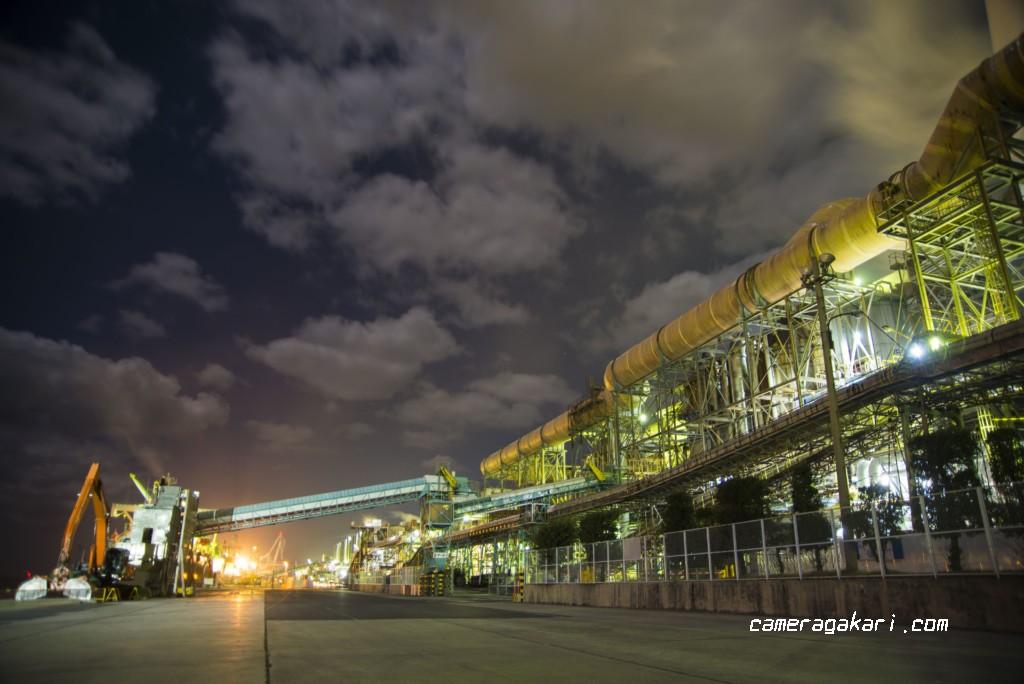 工場夜景撮影