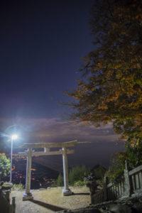 高屋神社 夜景
