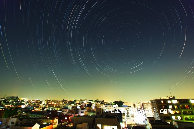 夜景 微速度撮影