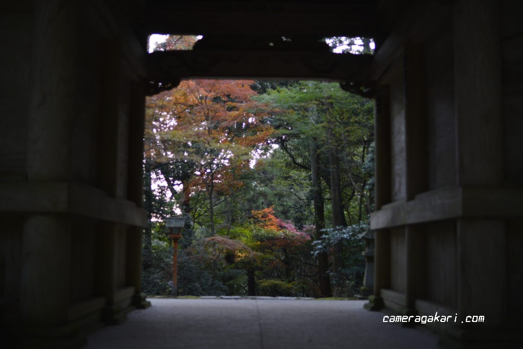 西山興隆寺の正門