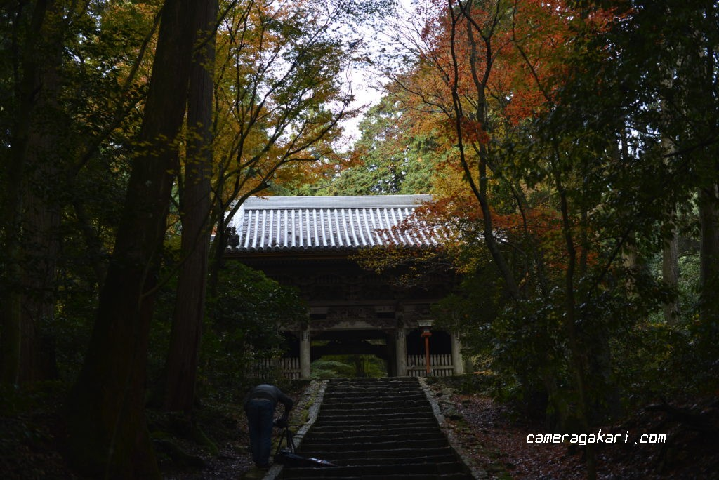 西山興隆寺 正門