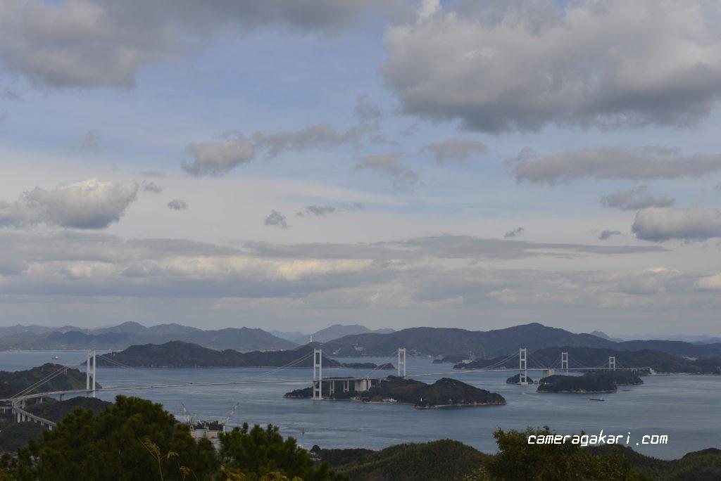 近見山展望台から見たしまなみ海道