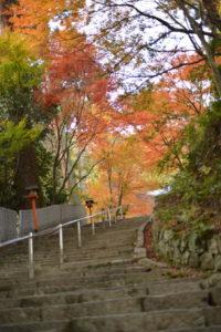 西山興隆寺 階段