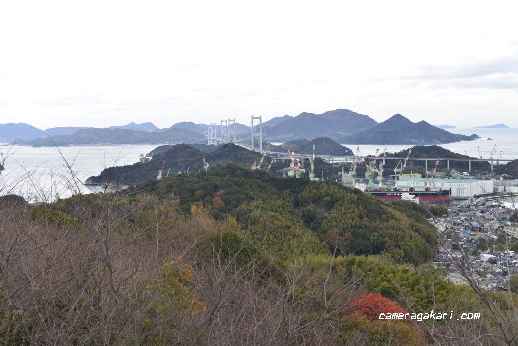 しまなみ海道と来島海峡大橋