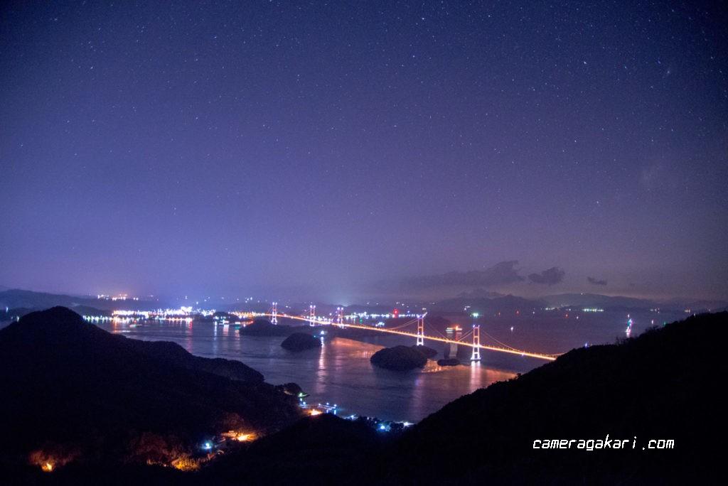しまなみ海道 夜景