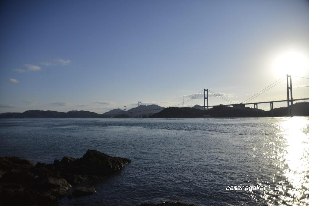 瀬戸内海 来島海峡大橋