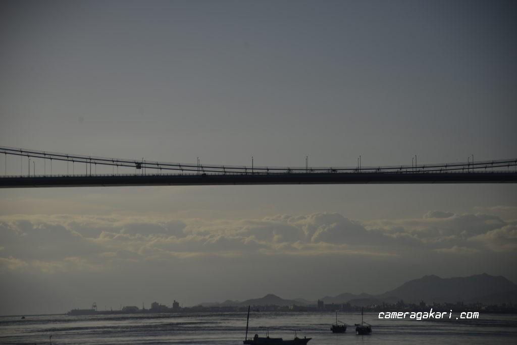 来島海峡大橋 サイクリング