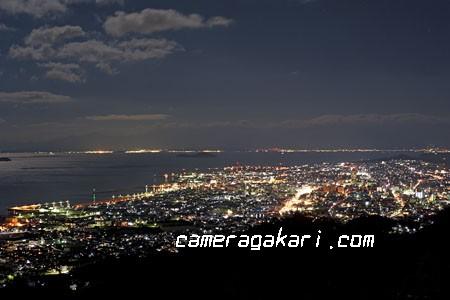 近見山展望台から見た夜景