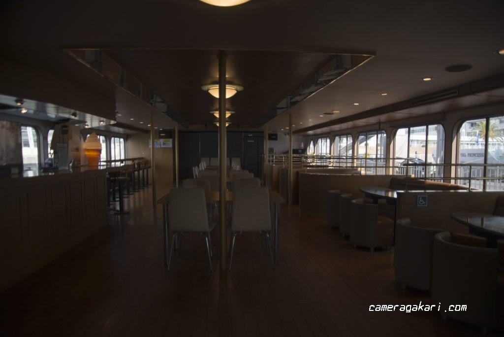 オーシャンプリンス号 船内