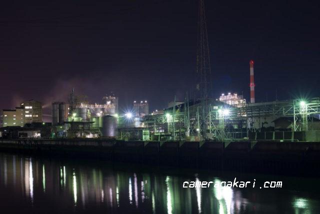 工場夜景 in 新居浜