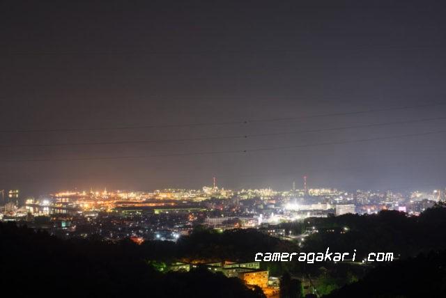新居浜の工場夜景