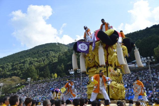 新居浜太鼓祭り 山根グラウンド