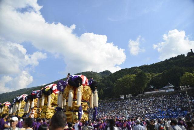 新居浜太鼓祭り 山根公園グラウンド