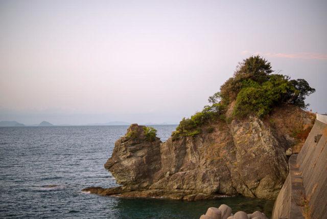 愛媛のライオン岩