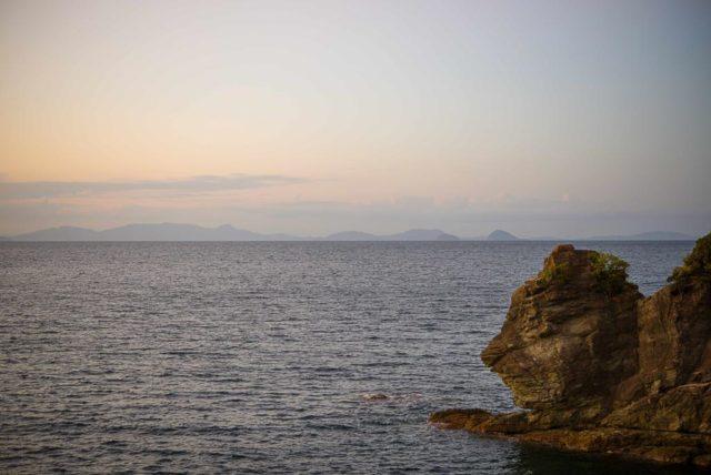 愛媛 ライオン岩
