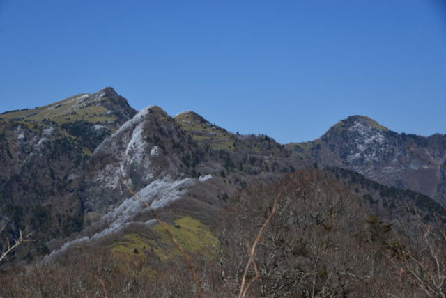 伊吹山から見たUFOラインの風景