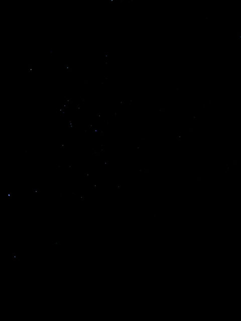 iPhoneで撮影した星空のレタッチ