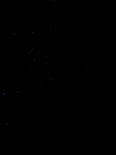 iPhone XS Maxで撮影した星空